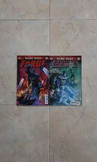 Dark Days: The Forge and The Casting (DC Comics 2 Issues of One-shots in Foil Cover)