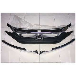 Civic FC ori grill like new full set