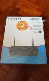 Netgear AC1200 Smart Wifi Router Dual Band Gigabit