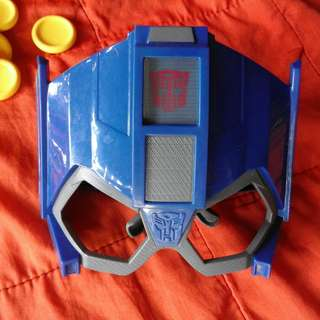 TRANSFORMERS: Optimus Prime Mask