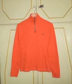 Authentic Ralph Lauren Half Zip Pullover Sweater