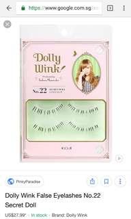 Dolly wink 22 eyelashes