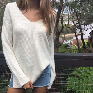 Alice in the eve cream knit jumper