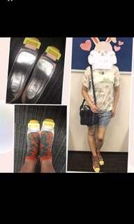 ❤️Roger Vivier Decolleté Belle Vivier Patent Pumps 超型格粉色系列 漆皮鞋 高踭鞋 shoes