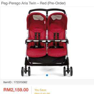 Twin Stroller (reduced ‼️RM350‼️)