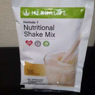 Formula 1 French Vanilla/ Dutch choco Herbalife Shake 25g
