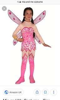 Mia & Me girls dress up fairy costume age 5-6