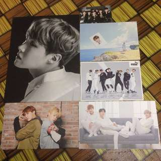 BTS OFFICIAL PC & POSTCARD
