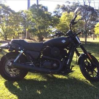 Harley Davidson Street 500 (xg 500)