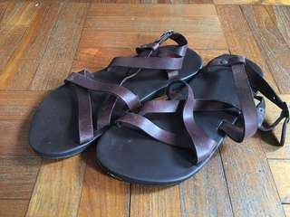 Leather Sandals Sz39