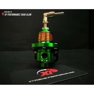 Fuel Regulator SARD adjustable fitment Green