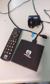 MyTVB Super TV box HDMI lead cable AC adapter remote control mutli channels