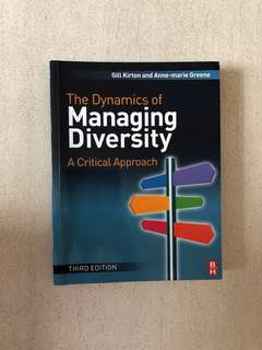 The Dynamics of Managing Diversity (3rd Edition)