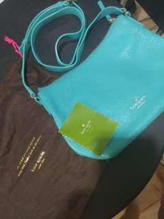 Kate Spade Sling Bag Bright Blue #maudecay