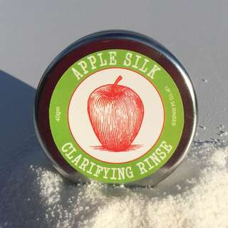 Beauty and the Bees apple silk clarifying rinse 40g