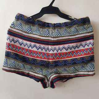 Forever 21 Tribal Design shorts