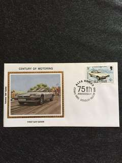 Isle of Man 1985 Motoring FDC stamp