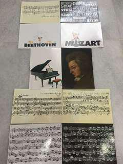 Music post card