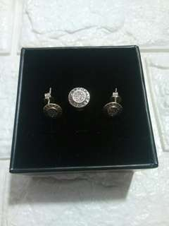 New: Pandora Signature Charm and Stud Earrings