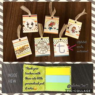 Personalise post it notes