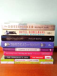📚 Clearance: Assorted New & Used 📚 Fiction & Non-Fiction