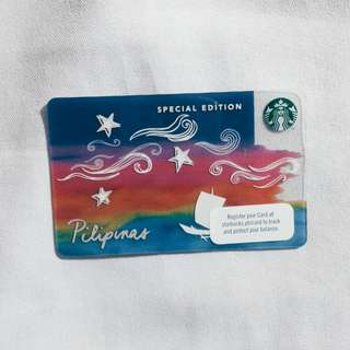 Starbucks Philippines Special Edition Kape Vinta Card