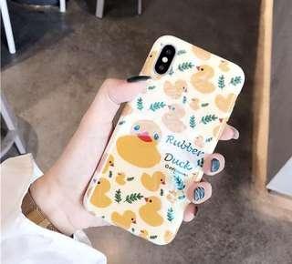 鴨仔藍光iPhone Case