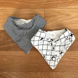 Cotton On dribble bib (pack of 2)