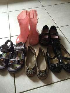🚚 二手童鞋共5雙$220