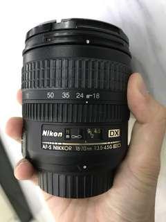 🚚 Nikon 17-70mm F3.5-4.5 G