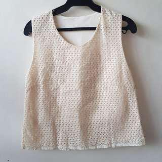 Bangkok Eyelet Terno (Sleeveless Top and Shorts)
