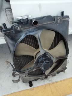 Radiator + Kipas Kancil 660 Manual