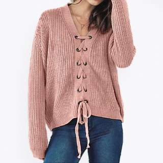 Fishtail Knitted Sweater