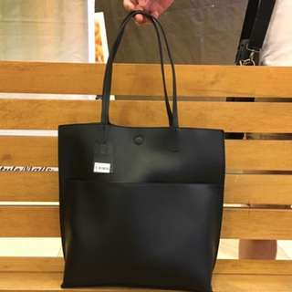 forever21 classic tote bag