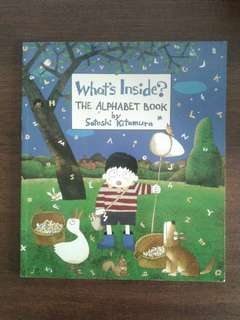 What inside? The alphabet book