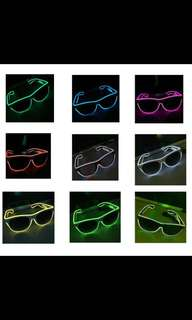 Led light party glasses / spectacles - IN-STOCK