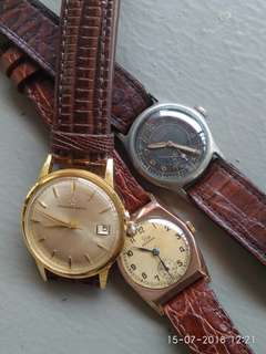 Vintage watch authentic 40s to 60s