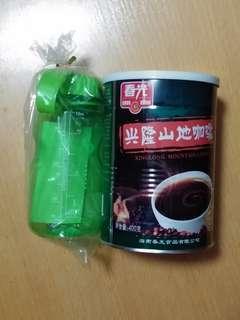 全新海南咖啡 送禮物全新水樽