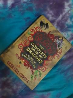 How to train your dragon the complete book of dragons