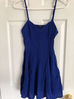 Aritzia Talula Roy Blue Dress