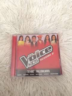 The Voice Kids PH Season 2 The Album (SIGNED)