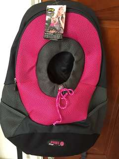 🚚 Pet Backpack寵物外出背包(粉色
