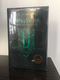 Harry Potter (The Philisopher's Stone) - Anniversary Edition House of Slytherin
