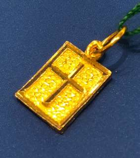 Gold - Cross Pendent (916 Gold 916 Gold) ❤️❤️