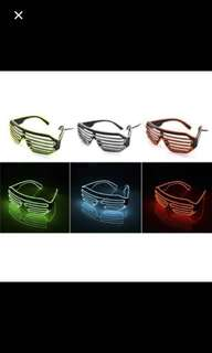 Fashion Neon Led Light Glasses / Spectacles. Events/ Parties/ Clubs/ Birthday/ Bachelor/ Bachelorette/ Gifts / Rave