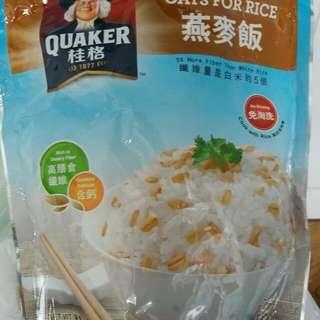 桂格燕麥飯600克~$15包