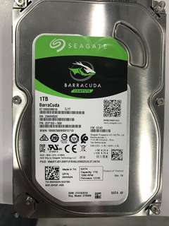 "1TB hdd 3.5"" 7200rpm barracuda hard drive"