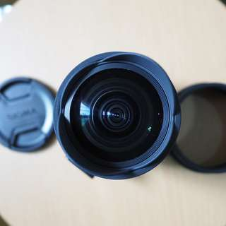 Sigma 10mm f/2.8 EX DC HSM Fisheye Lens for Canon (EOS M Adapter not included)