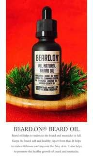 🚚 All Natural Beard Oil