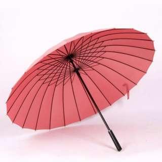 超 強 特 大2 4 骨 雨 傘 多種顏色